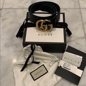 Gucci Marmont Belt sz 85mm 34